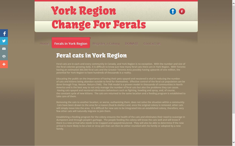 York Region Change for Ferals