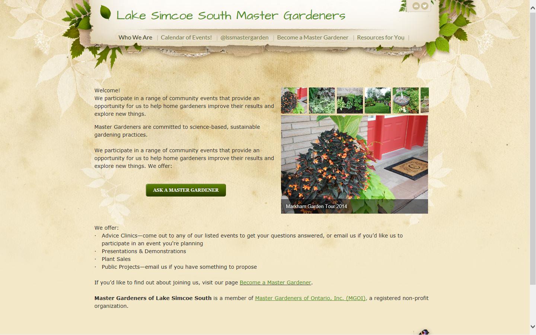 Lake Simcoe South Master Gardeners